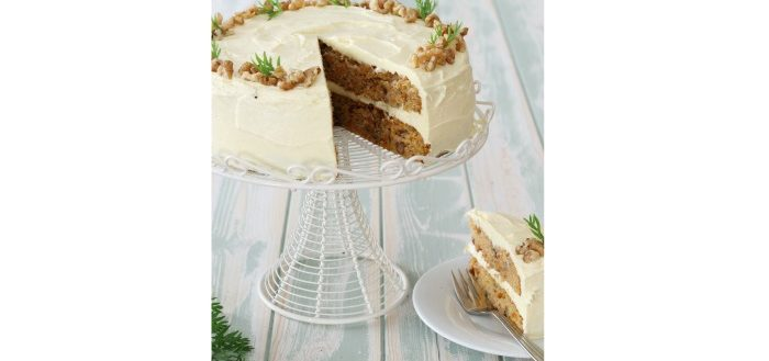 Shane Smith, Carrot & Cardamom celebration cake, i Love Cooking Easter recipes, Easter recipes, I Love Cooking Ireland