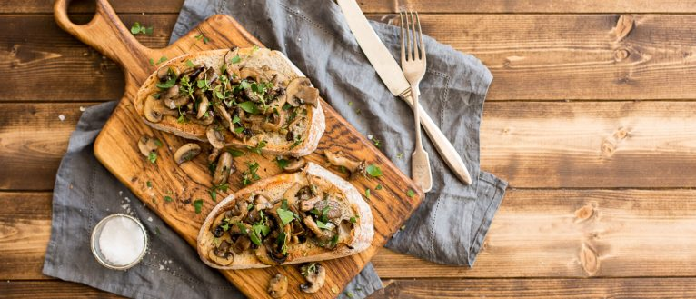 Garlic Mushroom Toast, brunch recipe, vegetarian recipe, I Love Cooking recipes, I love cooking ireland, recipe website, easy recipes, sourdough
