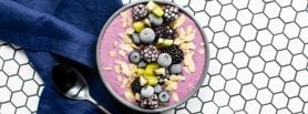 Blackberry & Blueberry Smoothie Bowl, smoothie bowl, smoothie, I Love Cooking Ireland, I love cooking recipes