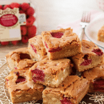Keelings White Chocolate & Raspberry Blondies