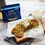 Dubliner Cheese Courgette Fritters