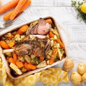 Roast Lamb and root vegetables, vegetable stock recipes, Carols Stockmarket, Easter lamb recipe, I Love Cooking Ireland recipes