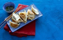 Pork & Scallion Pot Sticker Dumplings with Kwanghi Chan, I love cooking videos, modern asian cuisine, modern asian cooking, kwanghi chan, bowls by kwanghi, asian masterclasses, dumplings, pot sticker recipe