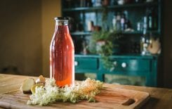 April Danann Meadowsweet Syrup, I Love Cooking Ireland, Irish food, wild foods