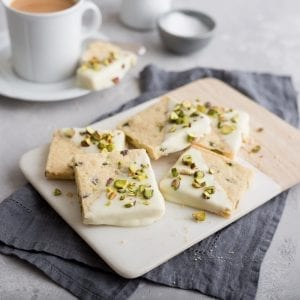 Pistachio & White Chocolate Shortbread, i love cooking ireland, kenwood ireland