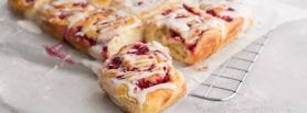 Raspberry Buns, Kenwood ireland, baking recipes, i Love Cooking Ireland