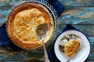 chicken and mushroom pot pie, chicken recipes, i love cooking ireland recipes, chicken and mushroom, family dinners