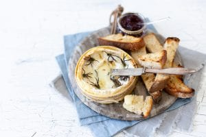 Baked Camembert cheese, how to make baked camembert cheese at home, camembert, Christmas starters