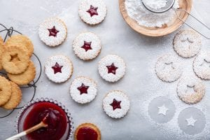 Linzer cookies, Christmas cookies, baking cookies, i love cooking cookies