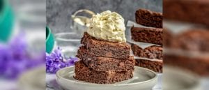 Vegan Gluten Free Brownies, vegan brownies, gluten brownies, brownies, I Love Cooking vegan, Michelle Hunt, Peachy Palate