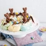 Easter Pavlova Wreath