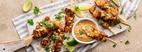 Chicken Satay recipe, chicken recipes, i love cooking