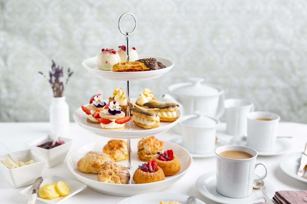 Shane Smith Afternoon Tea, Scones, Savoury Scones, Homemade Butter, I Love Cooking Chef Series