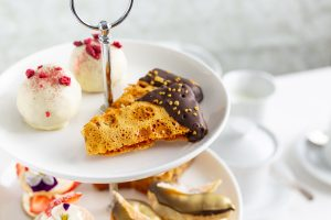 Chocolate Dipped Fennel Honeycomb, Shane Smith Afternoon tea recipes, Afternoon Tea recipes, no bake treats, gluten free dessert recipes, I Love Cooking Afternoon Tea recipes