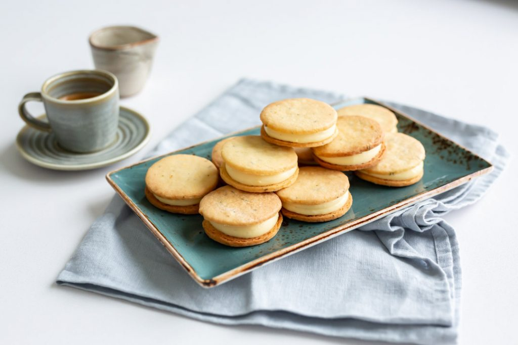 Lemon & Thyme Custard Creams