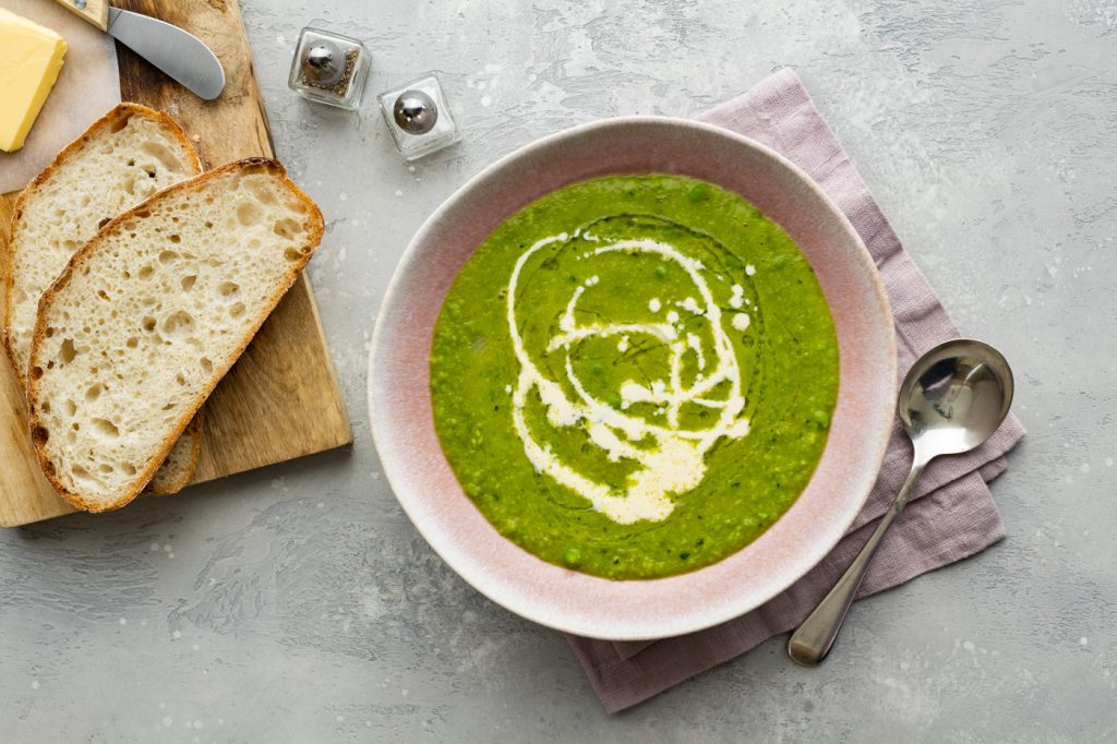 pea and mint soup, pea soup, soup recipes, i love cooking soup recipes