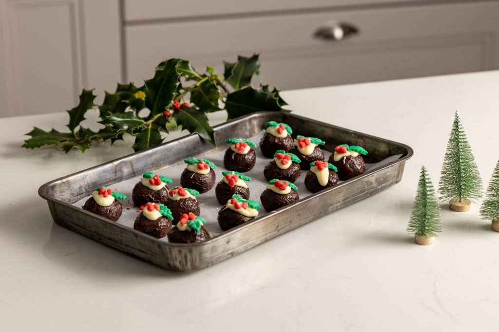 Shane Smith Christmas Truffle Puddings, I Love Cooking Ireland, Christmas recipes, edible gifts, kids christmas recipes